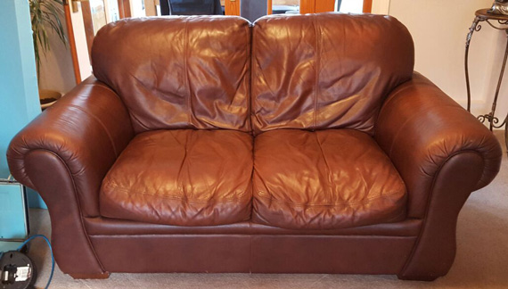 How To Repair A Leather Sofa Cushion